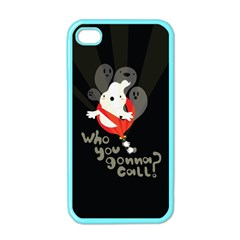 Who You Gonna Call Apple Iphone 4 Case (color) by Contest1771913