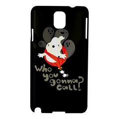Who You Gonna Call Samsung Galaxy Note 3 N9005 Hardshell Case