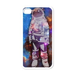 The Astronaut Apple Iphone 4 Case (white) by Contest1775858a