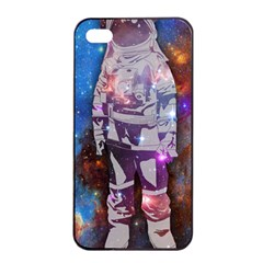 The Astronaut Apple Iphone 4/4s Seamless Case (black) by Contest1775858a