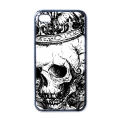 Skull King Apple Iphone 4 Case (black) by TheTalkingDead