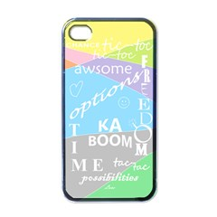 Oh Write Apple Iphone 4 Case (black) by Contest1719785