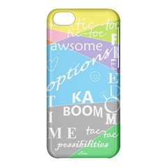 Oh Write Apple Iphone 5c Hardshell Case by Contest1719785