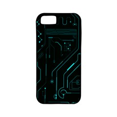 Circuit Board Apple Iphone 5 Classic Hardshell Case (pc+silicone) by TheTalkingDead