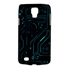 Circuit Board Samsung Galaxy S4 Active (i9295) Hardshell Case by TheTalkingDead
