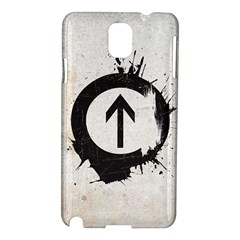 Above The Influence Samsung Galaxy Note 3 N9005 Hardshell Case by Contest1775858