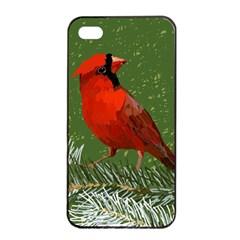 Cardinal Apple Iphone 4/4s Seamless Case (black)