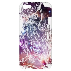 Cosmic Owl Apple Iphone 5 Hardshell Case by Contest1775858