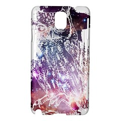 Cosmic Owl Samsung Galaxy Note 3 N9005 Hardshell Case by Contest1775858
