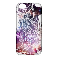 Cosmic Owl Apple iPhone 5C Hardshell Case by Contest1775858