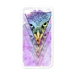 Owl Art Apple Iphone 4 Case (white)