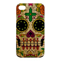 Sugar Skull Apple Iphone 4/4s Premium Hardshell Case by Contest1775858