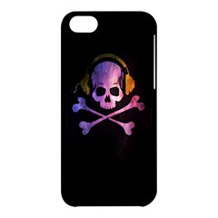 Rock out with your Skull out... Apple iPhone 5C Hardshell Case by TheTalkingDead