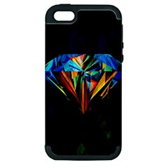 Diamonds Are Forever  Apple Iphone 5 Hardshell Case (pc+silicone) by TheTalkingDead