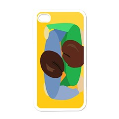 Hug Apple Iphone 4 Case (white)