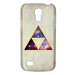 Cosmic Triangles Samsung Galaxy S4 Mini Hardshell Case  by Contest1775858