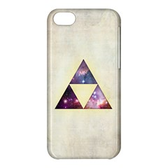 Cosmic Triangles Apple iPhone 5C Hardshell Case by Contest1775858
