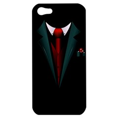All Dressed Up And No One To Call Apple Iphone 5 Hardshell Case by TheTalkingDead