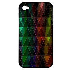 Color Apple Iphone 4/4s Hardshell Case (pc+silicone) by ILANA