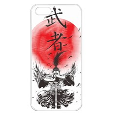 The Warrior Apple Iphone 5 Seamless Case (white) by DesignsbyReg2