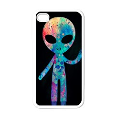 Greetings From Your Phone Apple Iphone 4 Case (white) by TheTalkingDead