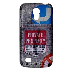 warning Samsung Galaxy S4 Mini Hardshell Case  by Contest1761904