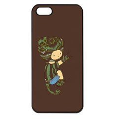 Charlie Apple Iphone 5 Seamless Case (black) by RachelIsaacs