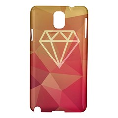 Diamond Samsung Galaxy Note 3 N9005 Hardshell Case by Contest1701949
