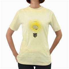 Good Idea!  Womens  T Shirt (yellow)