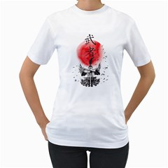 The Warrior Womens  T Shirt (white)