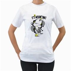 Wishin  Time! Womens  T Shirt (white)