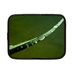 Grass Drops Netbook Sleeve (small) by Siebenhuehner