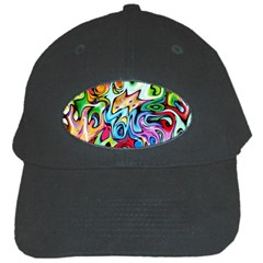 Graffity Black Baseball Cap by Siebenhuehner