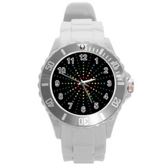 Fireworks Plastic Sport Watch (large) by Contest1762364