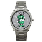 Don t waste your time... Sport Metal Watch Front
