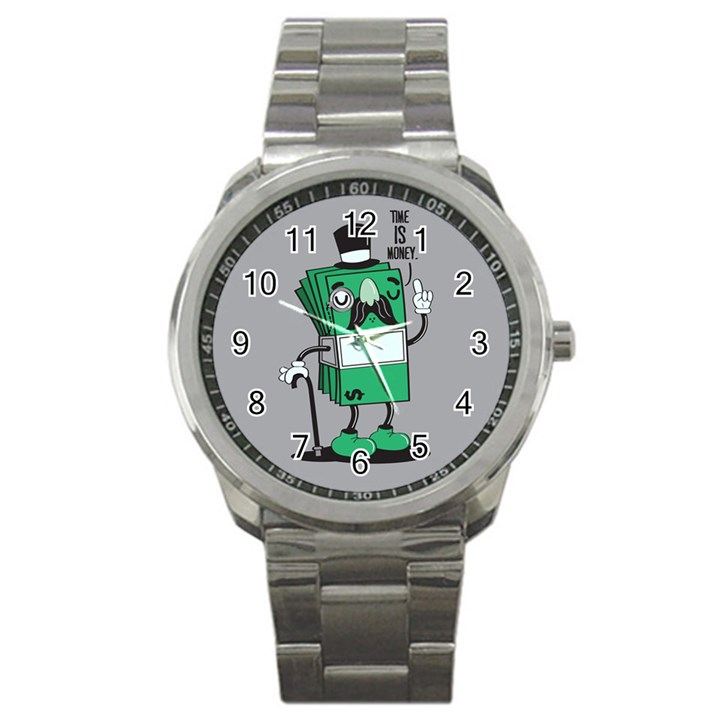 Don t waste your time... Sport Metal Watch
