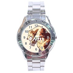 Bear Time Stainless Steel Watch by Contest1780262
