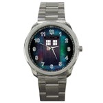 The Time Traveler Sport Metal Watch Front