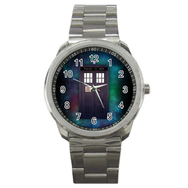 The Time Traveler Sport Metal Watch