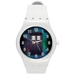 The Time Traveler Plastic Sport Watch (medium)