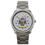 Time Bomb Sport Metal Watch Front