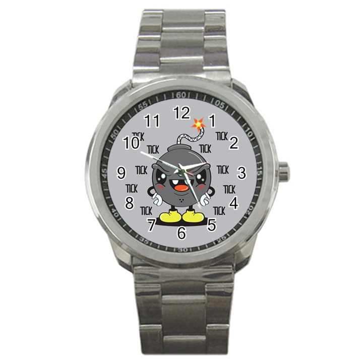 Time Bomb Sport Metal Watch