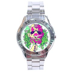 Bozo Zombie Stainless Steel Watch by Contest1731890