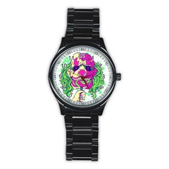 Bozo Zombie Sport Metal Watch (black) by Contest1731890