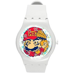 Mario Zombie Plastic Sport Watch (medium) by Contest1731890