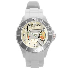 Happy Beam Plastic Sport Watch (large) by RachelIsaacs