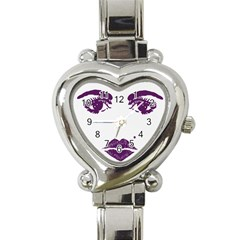 Beauty Time Heart Italian Charm Watch  by Contest1704350