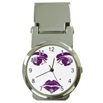 Beauty Time Money Clip with Watch Front