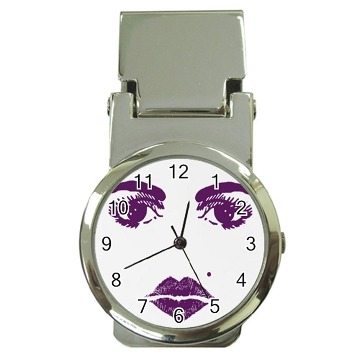Beauty Time Money Clip with Watch