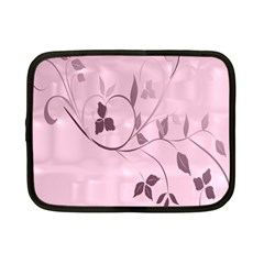 Floral Purple Netbook Sleeve (small) by uniquedesignsbycassie